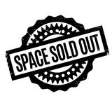 Space Sold Out rubber stamp Stock Photo