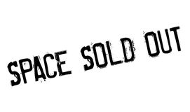 Space Sold Out rubber stamp Stock Photography