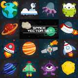 Space square vector Royalty Free Stock Image