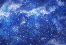 Space with stars Royalty Free Stock Photo
