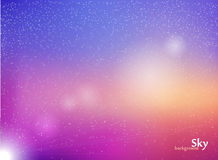 Space with stars. Stock Photos