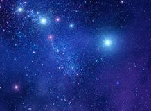 Space stars background illustration stock images
