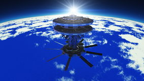 Space station Royalty Free Stock Images