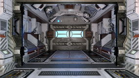Space station Royalty Free Stock Image