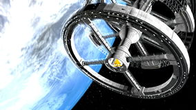 Space Station explore the universe. HD Space Station explore the universe stock video
