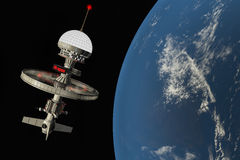 Space station Royalty Free Stock Photography