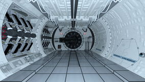 Space station Stock Image