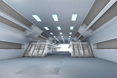Space station Interior Royalty Free Stock Image