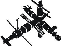 SPACE STATION MIR Royalty Free Stock Image