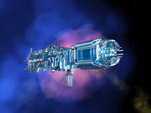 Space Station in Space Royalty Free Stock Photo