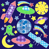 Space Stickers Stock Images