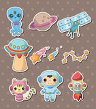 Space stickers Royalty Free Stock Photo