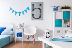 Space for study, sleep and play Royalty Free Stock Image