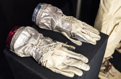 Space suit gloves Royalty Free Stock Photography