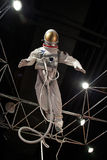 Space Suit at Museum of Science and Industry Stock Photography