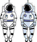 Space Suit Vector file Stock Photography
