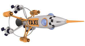Space taxi Stock Photo