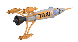 Space taxi Royalty Free Stock Photo