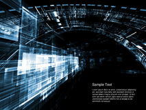 Space Technologies Abstract Stock Image