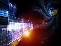 Space Technologies Abstract Royalty Free Stock Photo