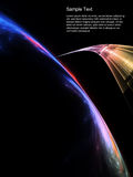 Space Technologies Abstract Stock Photo
