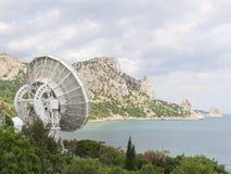 Space telescope stock photo