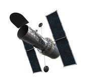 Space Telescope Isolated Royalty Free Stock Photography
