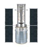 Space Telescope Isolated Stock Photo