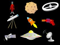 Space things Stock Image
