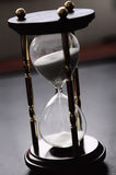 Space of time, hourglass royalty free stock image