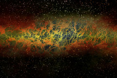 Space-Time Ripples. Universe Background Suitable for Custom Content Stock Photos