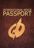 Space tourism passport Stock Images