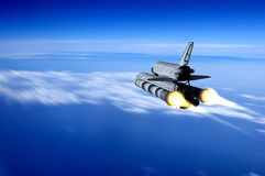Space transport Royalty Free Stock Images