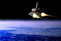 Space transport Stock Image