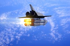 Space transport Royalty Free Stock Photo