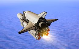 Space transport Stock Images