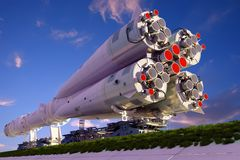 Space transport Royalty Free Stock Photography