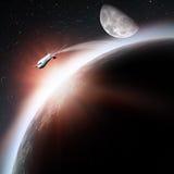 Space transportation Stock Photo
