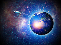 Space transportation Stock Photography