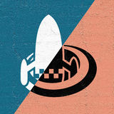 Space travel icon. Design of space travel icon royalty free illustration