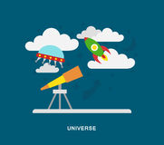 Space univerce Royalty Free Stock Photography