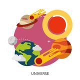 Space Universe Vector Image Stock Photography