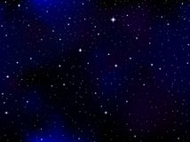 Space vector background with galaxies, stars, constellations stock images