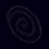 Space vector. The universe in space. Darkness. Royalty Free Stock Images