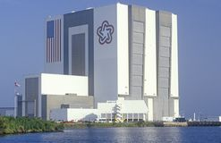 Space vehicle assembly building, Kennedy Space Center, Cape Canaveral, FL Stock Photography