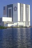 Space vehicle assembly building, Kennedy Space Center, Cape Canaveral, FL Stock Image