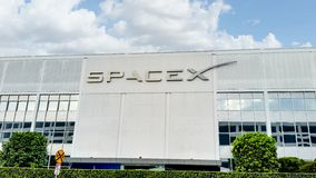 Free Space X Building Sign Stock Images - 156791334