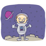 Spaceboy ilustracja wektor