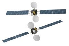 Spacecraf del satélite de telecomunicación del espacio Fotografía de archivo libre de regalías