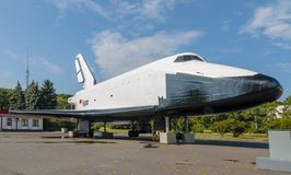 Spacecraft Buran in Moscow Stock Image